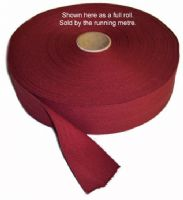 Red Cotton Webbing